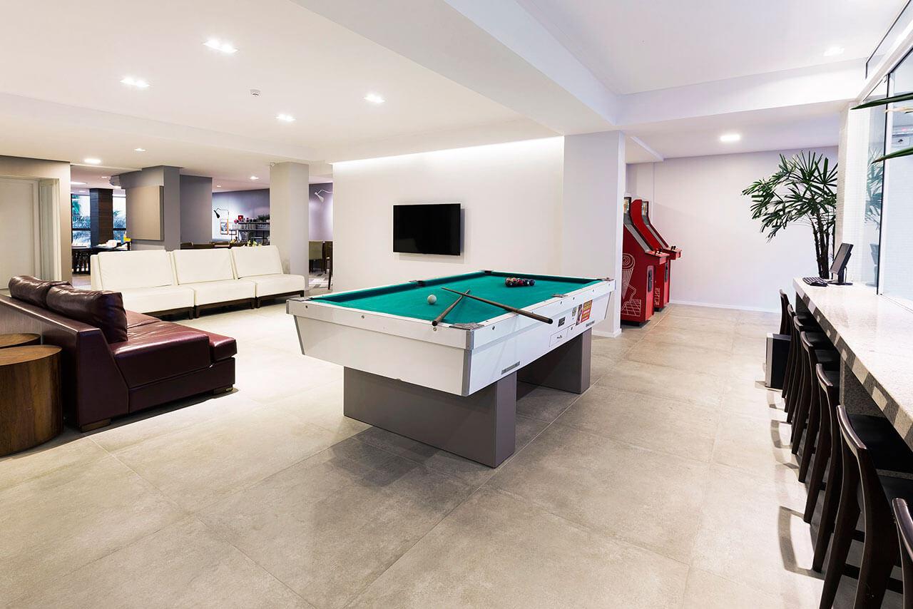 Foto Área de TV e Jogos Tropikalya Gold Hotel
